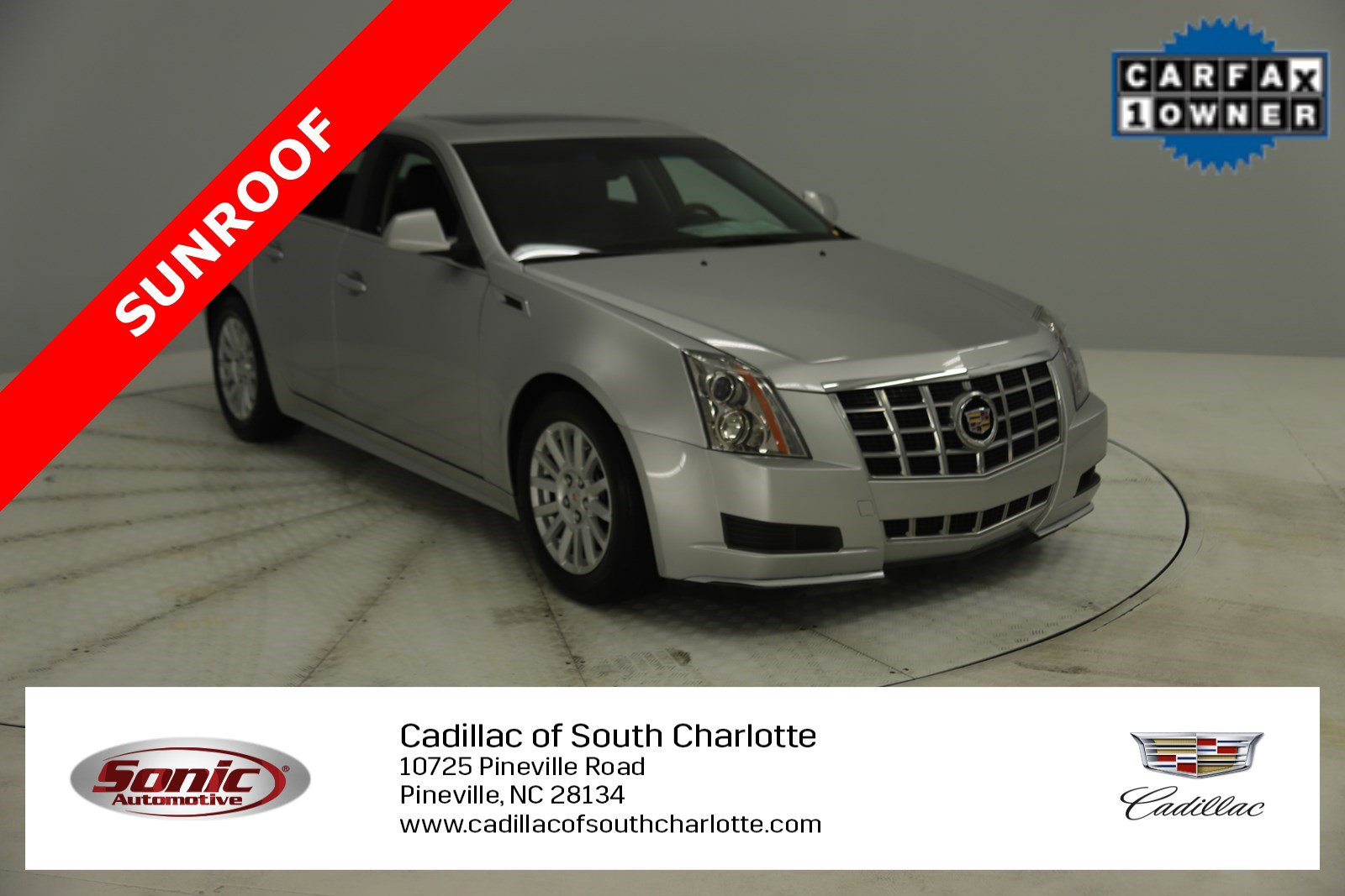 2013 Cadillac CTS Luxury AWD Sedan image
