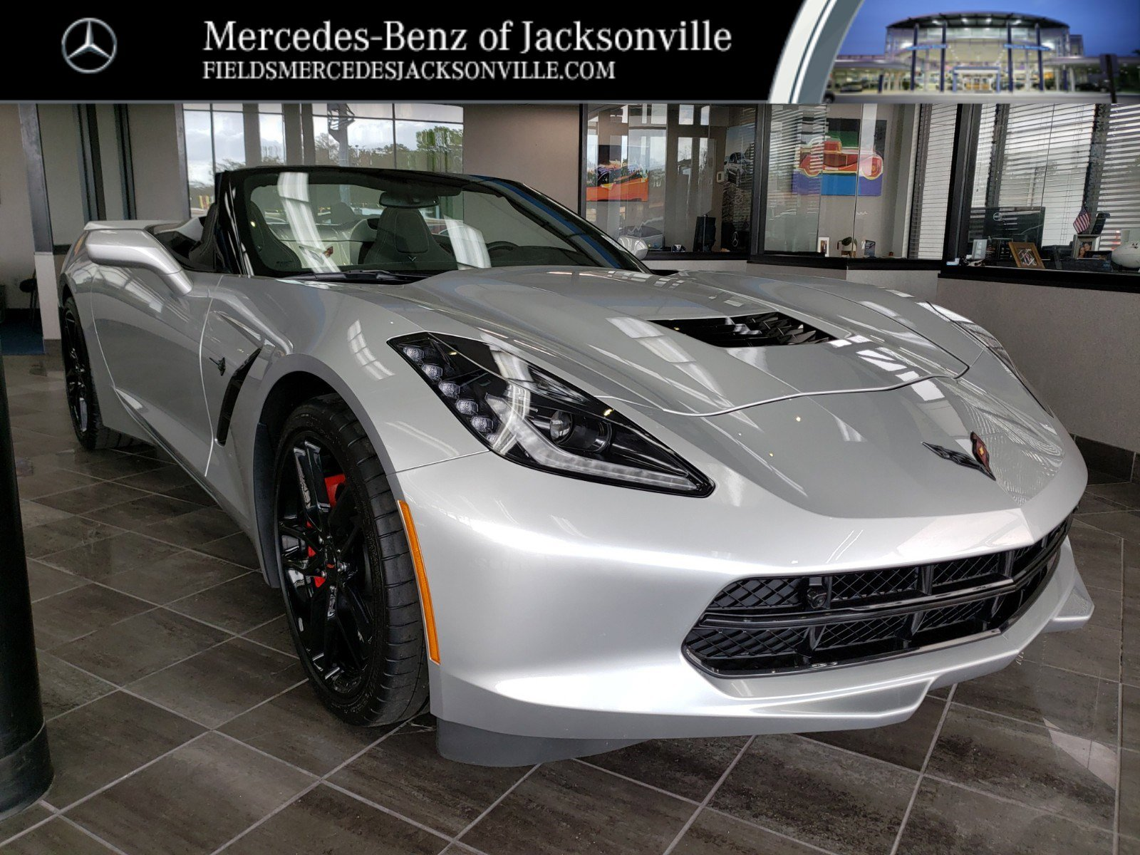 2017 Chevrolet Corvette Stingray Convertible w/ 2LT image