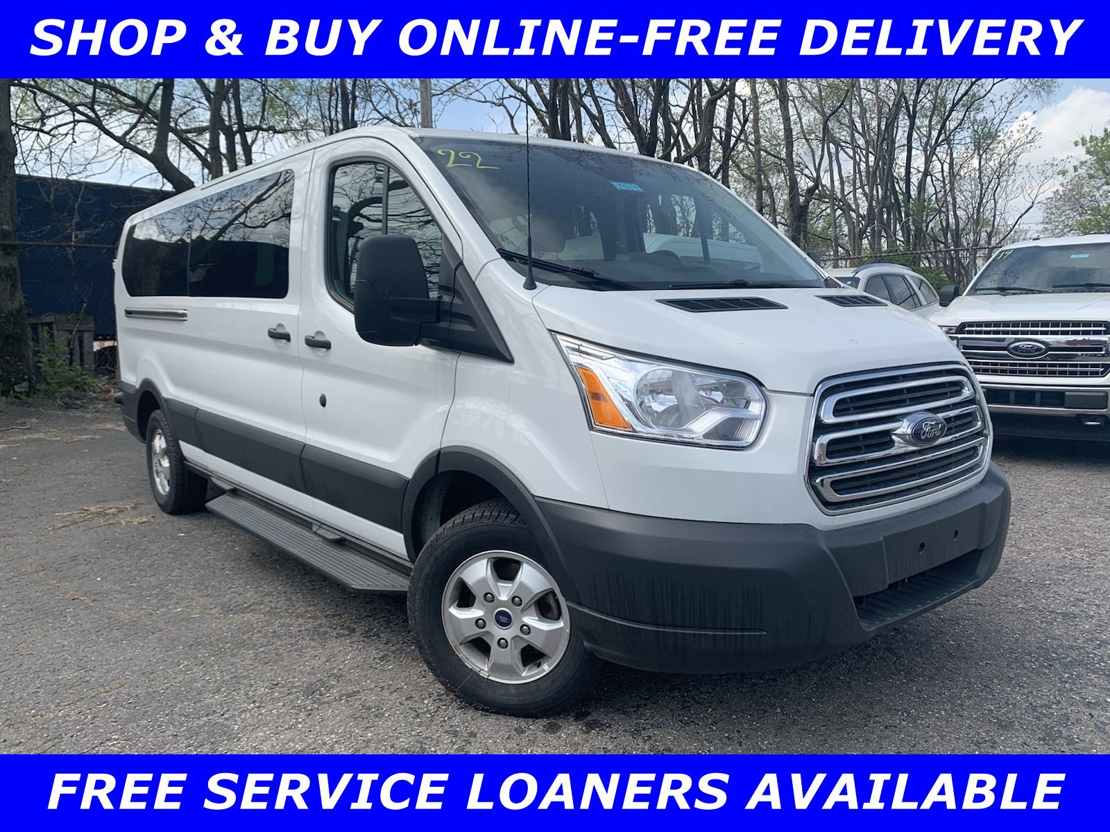 2018 Ford Transit 350 148 Low Roof Wagon image