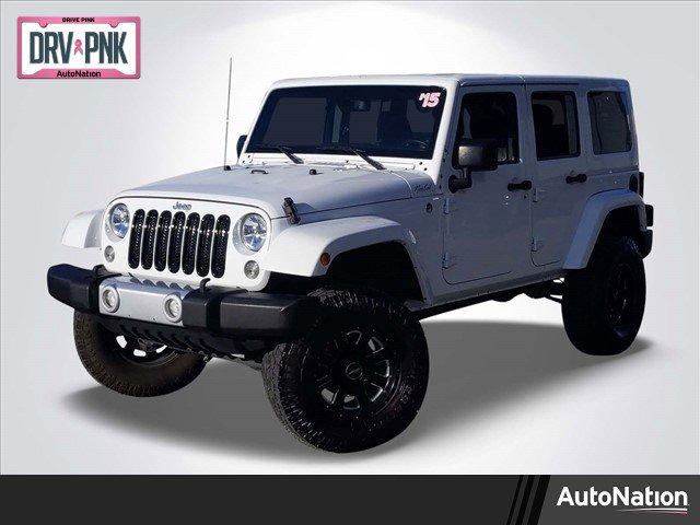 2015 Jeep Wrangler 4WD Unlimited Sahara image