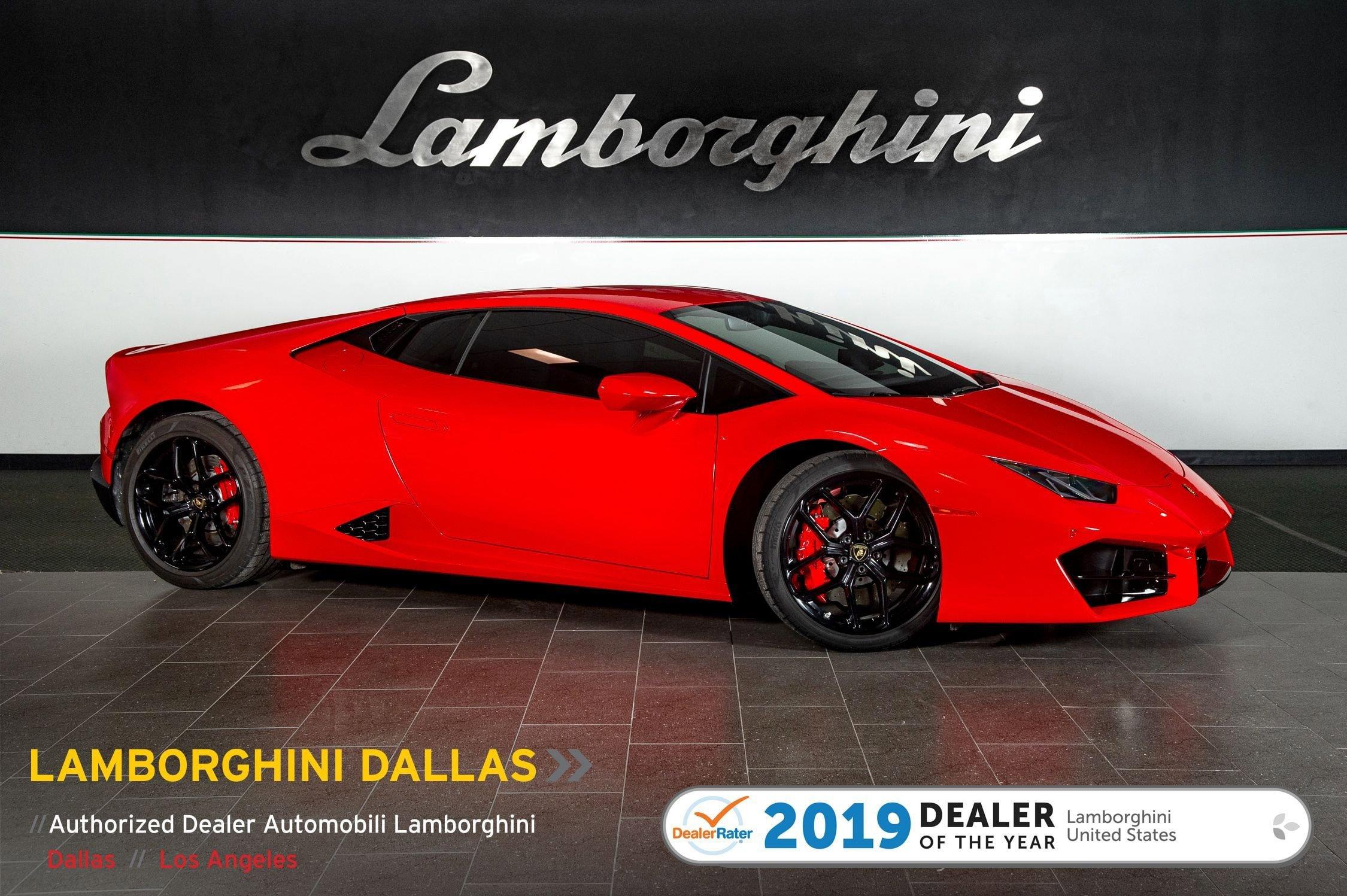 2018 Lamborghini Huracan LP 580-2 Coupe image