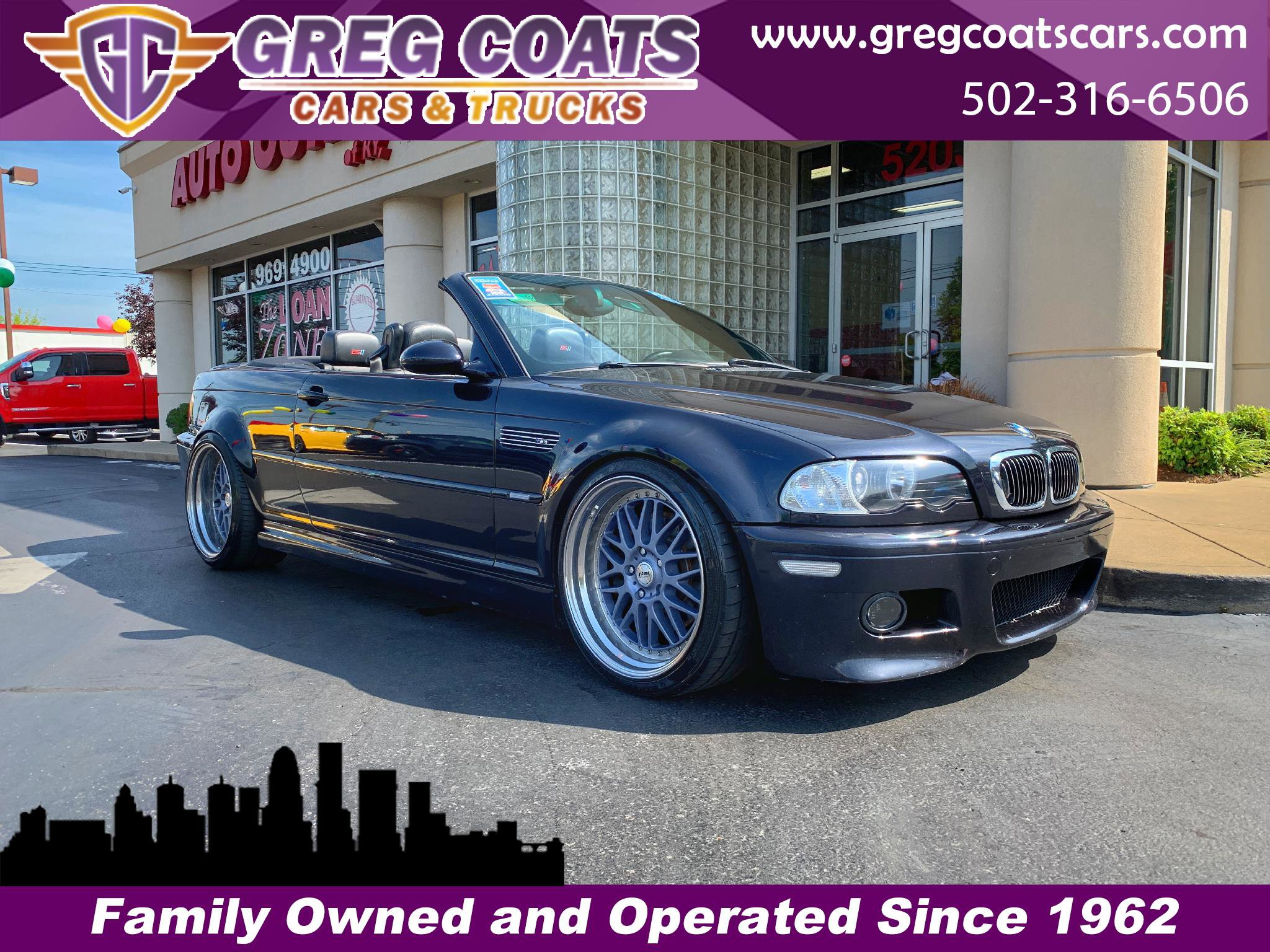2002 BMW M3 Convertible image