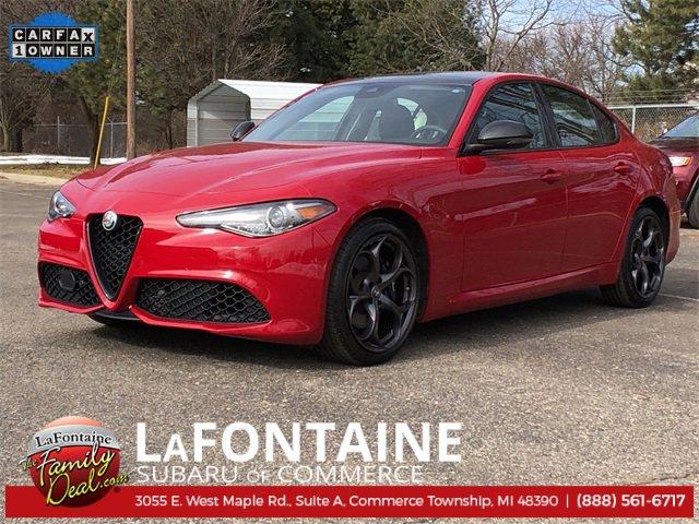 2019 Alfa Romeo Giulia Ti image
