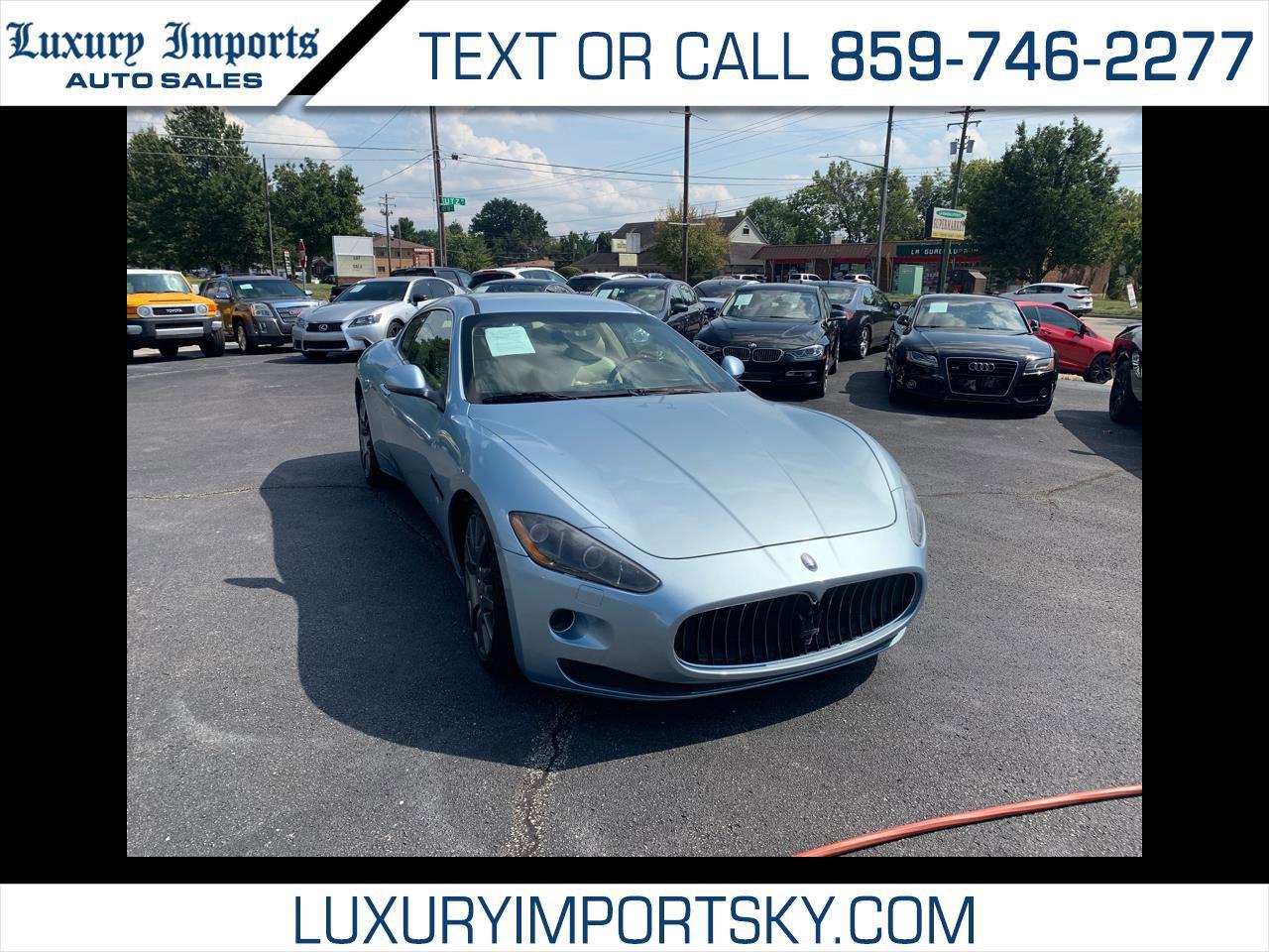 2010 Maserati GranTurismo Coupe image