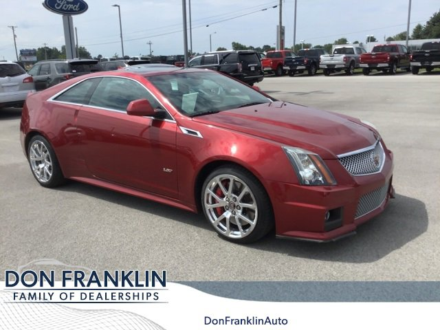 2014 Cadillac CTS V Coupe image