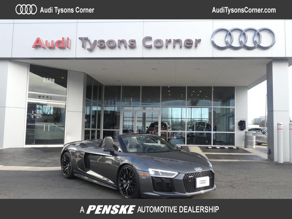 2018 Audi R8 V10 plus Spyder image
