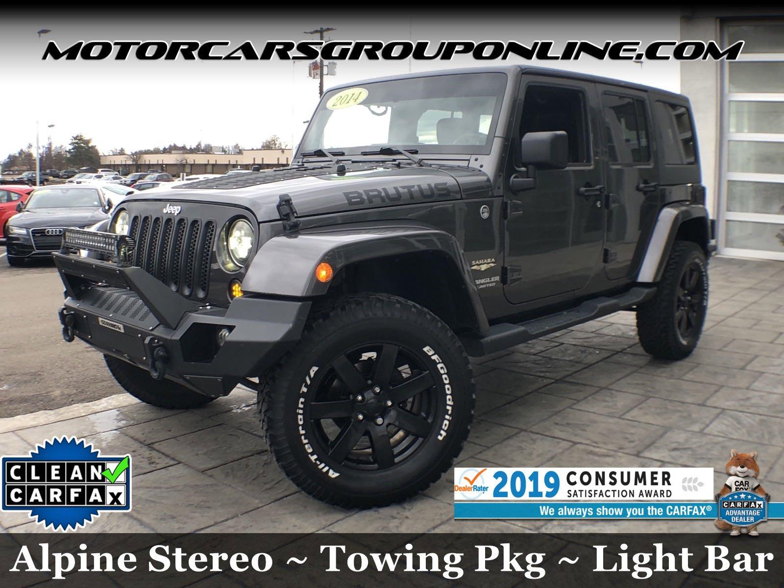2014 Jeep Wrangler Sahara image
