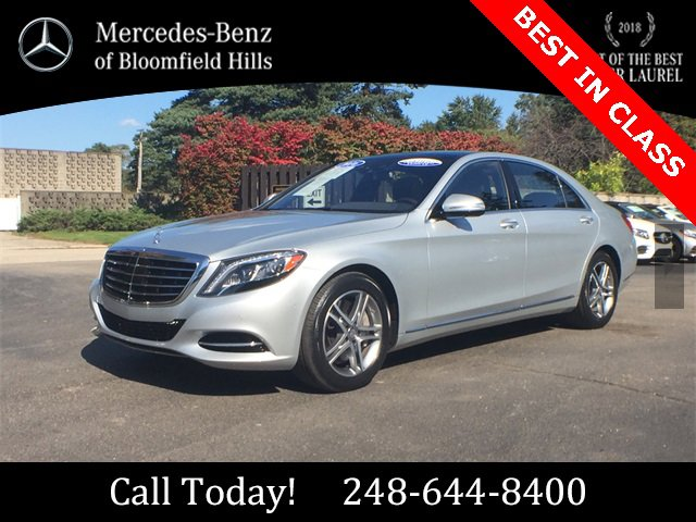 2016 Mercedes-Benz S 550 4MATIC Sedan image