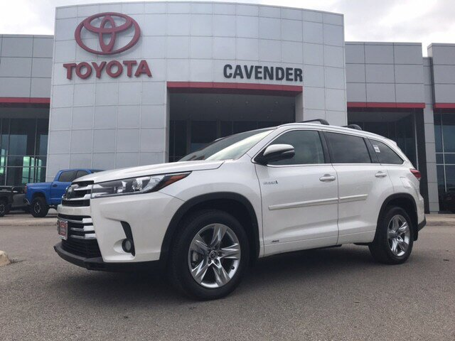 2018 Toyota Highlander AWD Limited Hybrid image