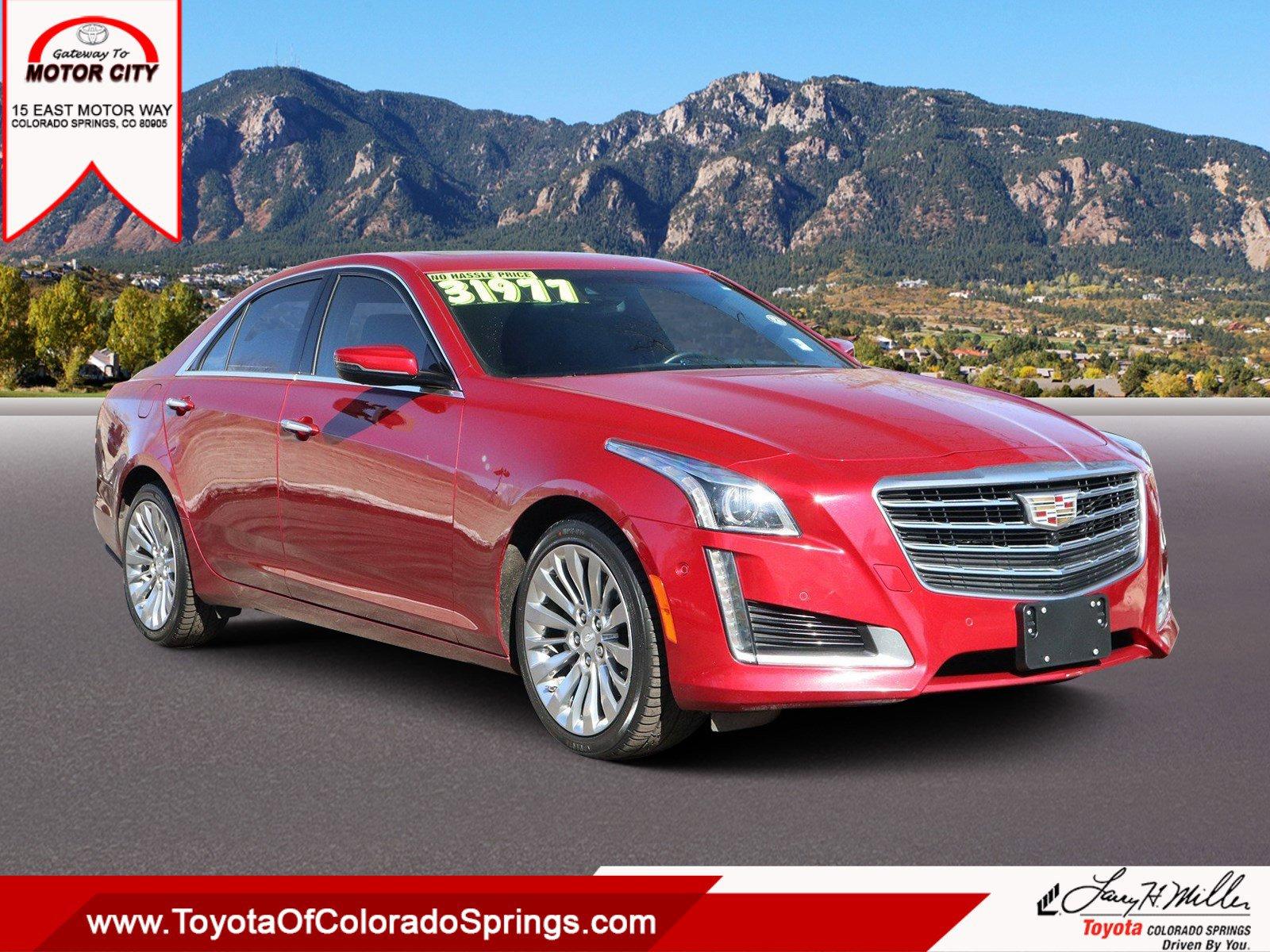 2017 Cadillac CTS Premium Luxury AWD image