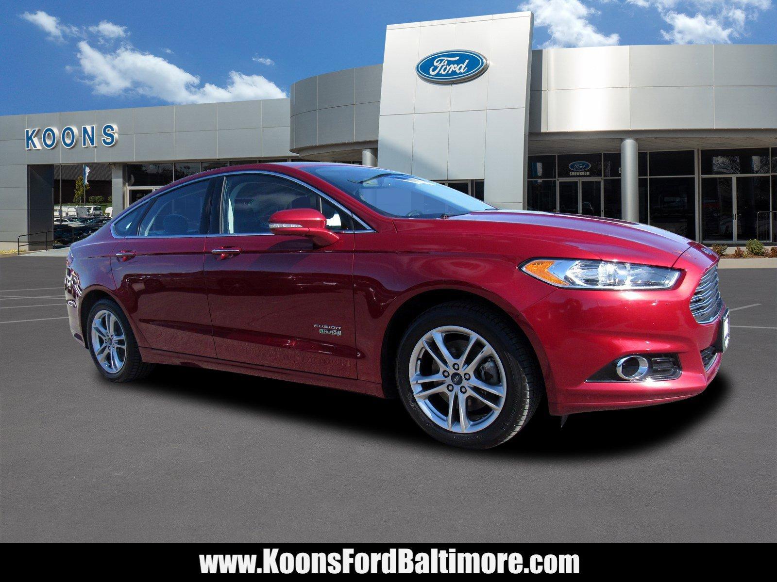 2016 Ford Fusion Energi Titanium image
