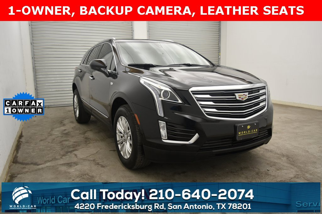 2017 Cadillac XT5 FWD w/ LPO, WHEEL LOCK PACKAGE image