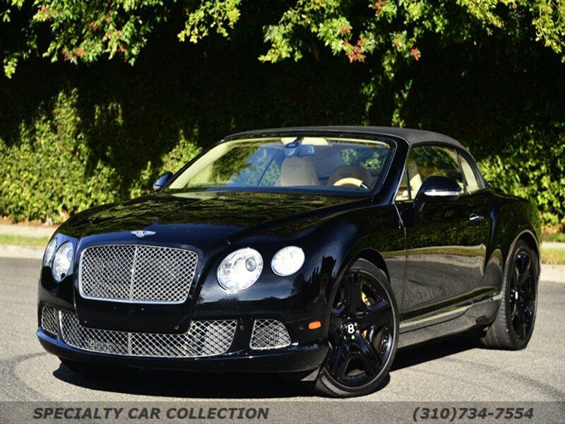 2012 Bentley Continental GT Convertible image