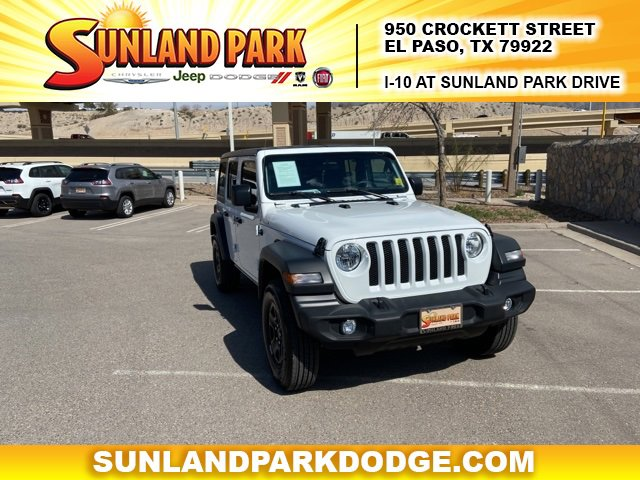 2018 Jeep Wrangler 4WD Unlimited Sport image