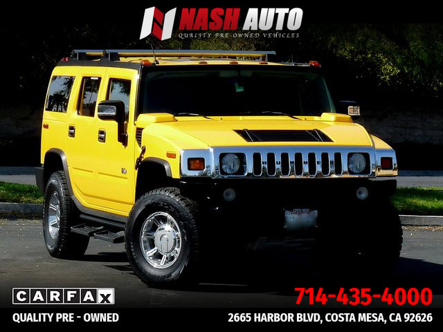 2003 HUMMER H2 Luxury image
