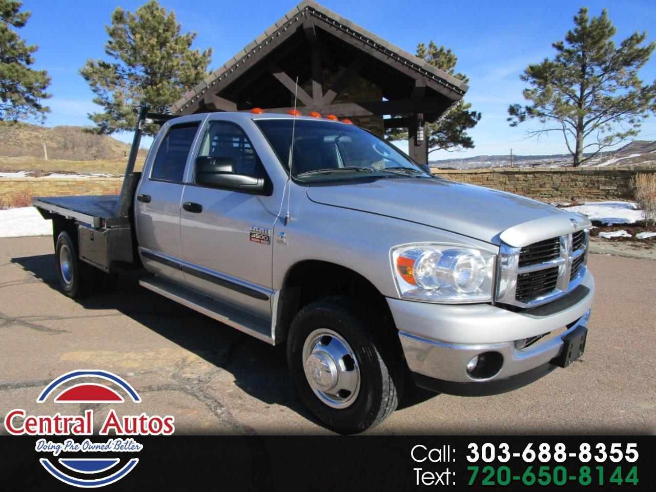 2007 Dodge Ram 3500 Truck 4x4 Quad Cab SLT DRW image