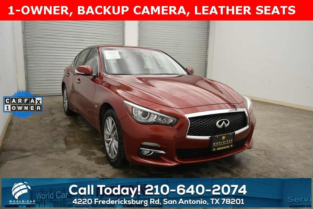 2016 INFINITI Q50 AWD w/ Moonroof Package image