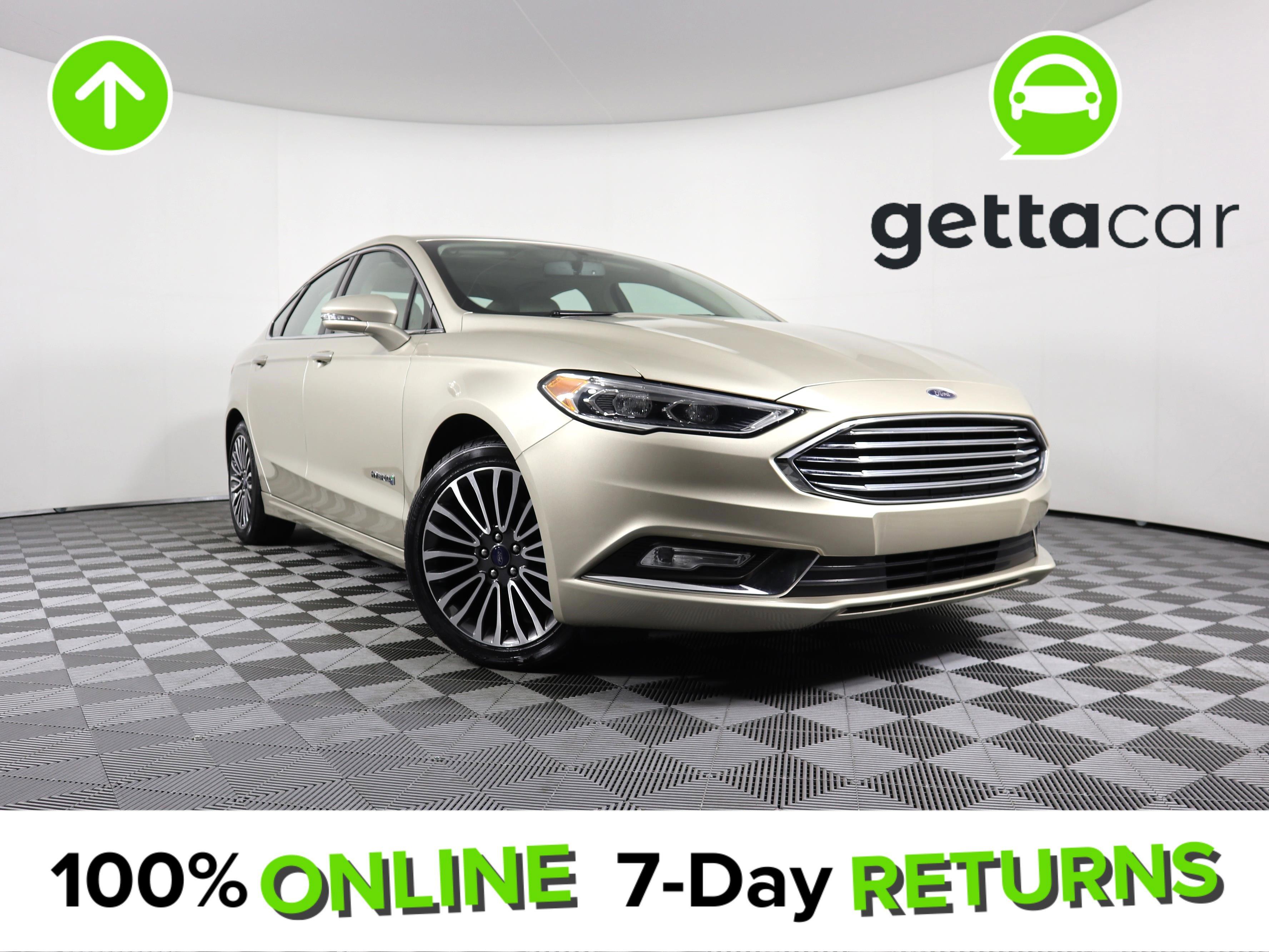 2018 Ford Fusion Titanium image