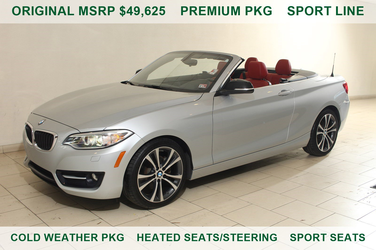 2015 BMW 228i xDrive Convertible image