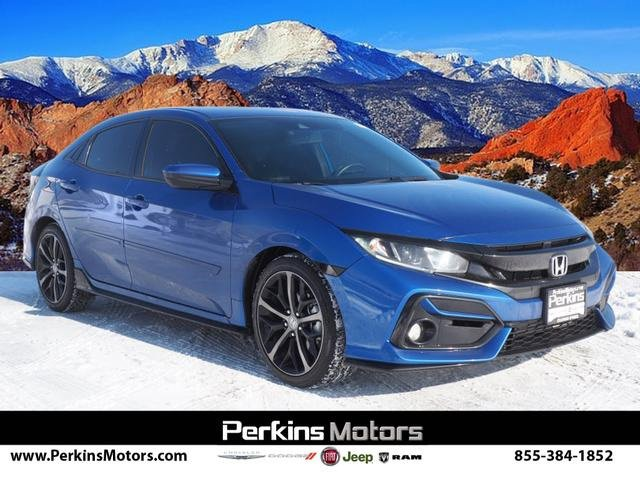 2020 Honda Civic Sport Hatchback image
