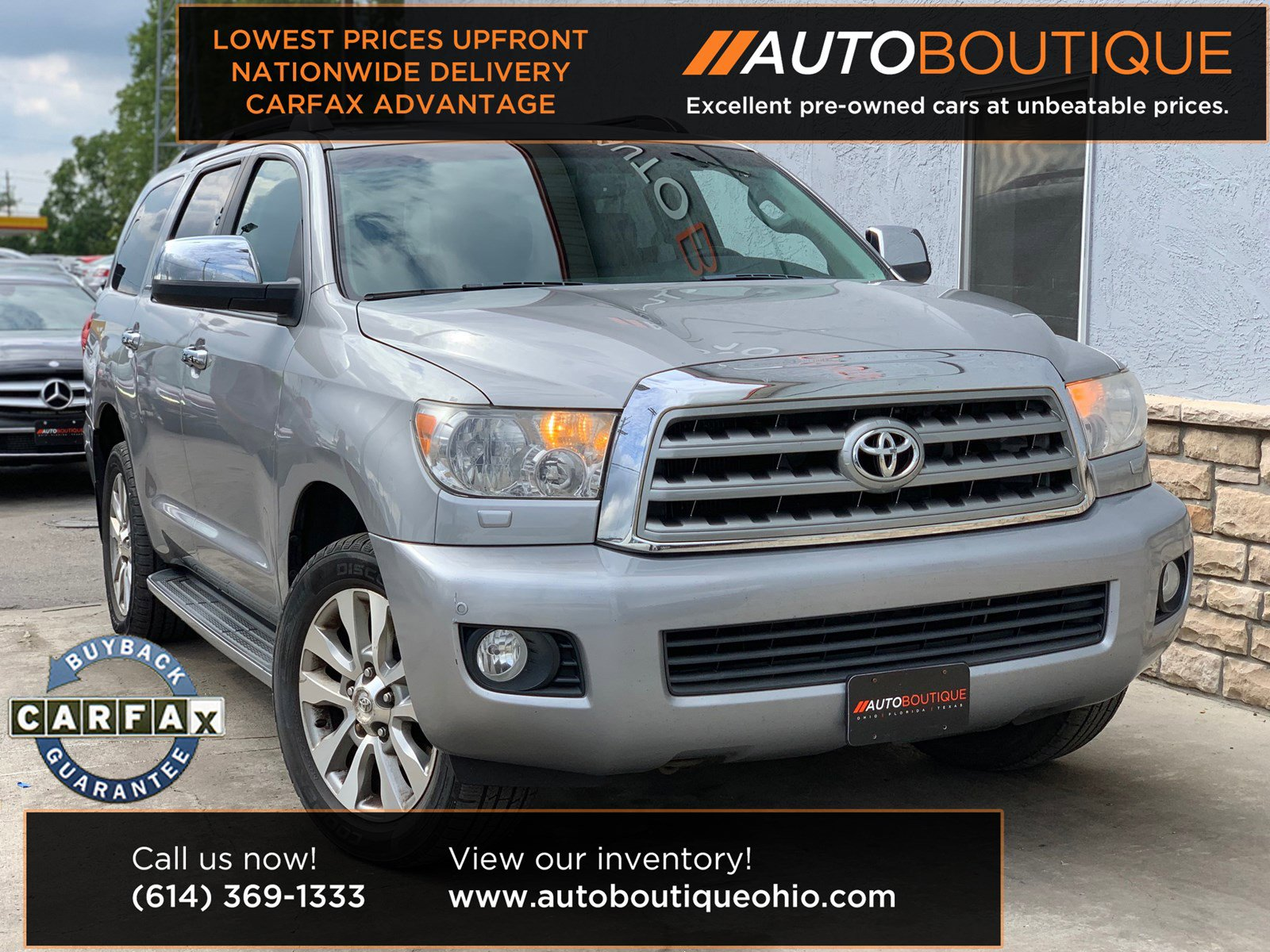 2010 Toyota Sequoia 4WD Limited image