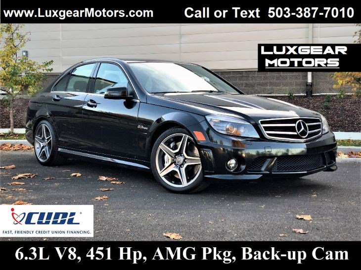 Mercedes-Benz C 63 AMG Under 500 Dollars Down