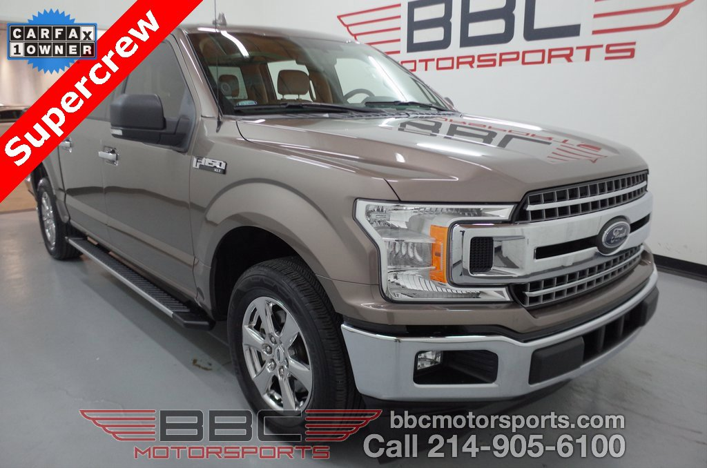 2018 Ford F150 2WD SuperCrew XLT image