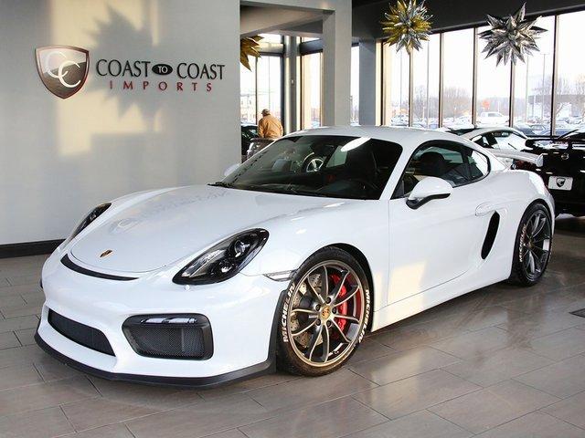 2016 Porsche Cayman GT4 image