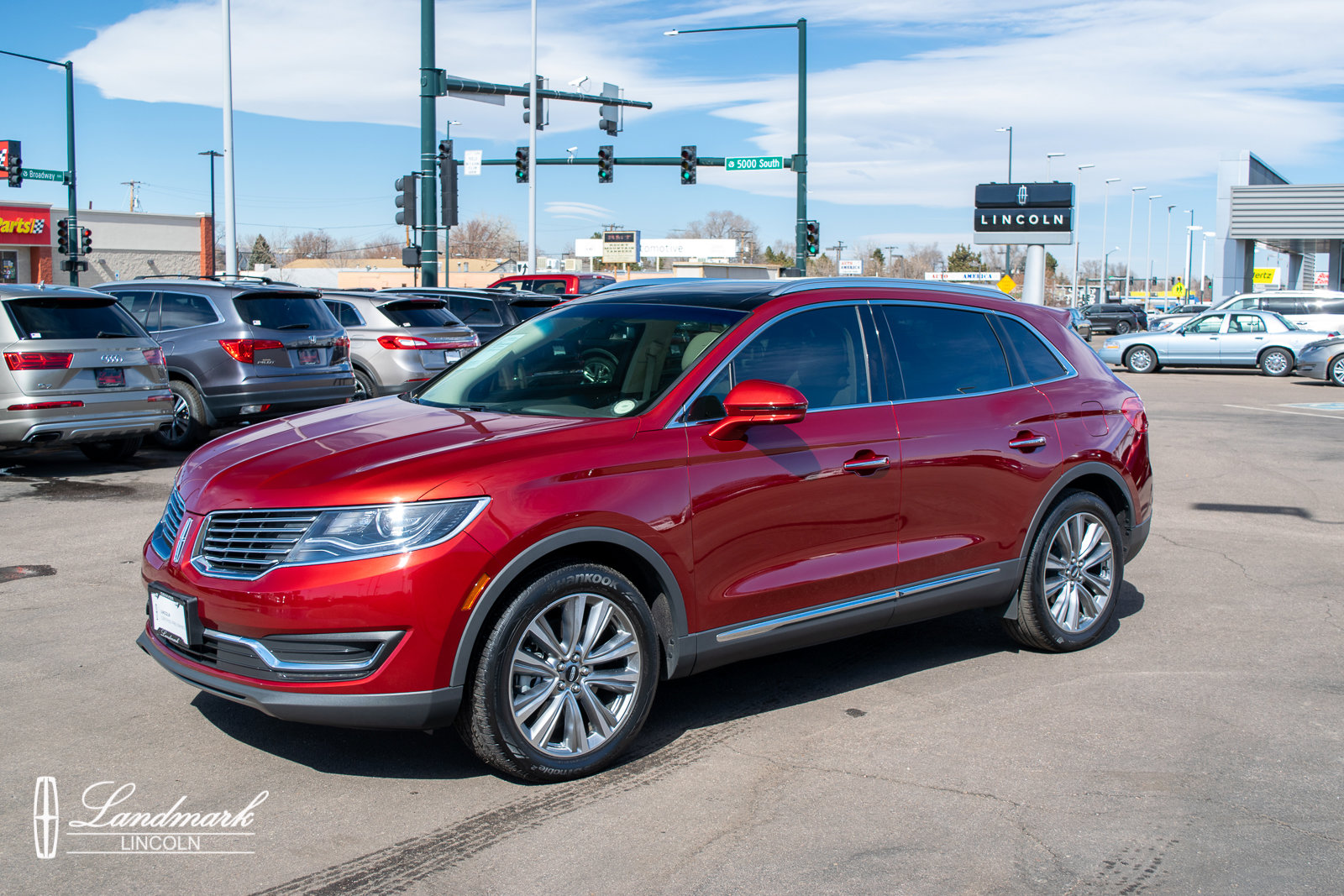 2018 Lincoln MKX AWD Reserve image