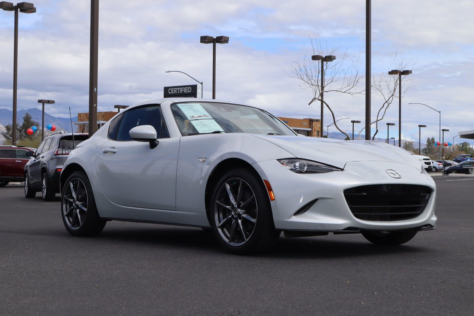 2018 MAZDA MX-5 Miata RF Grand Touring image