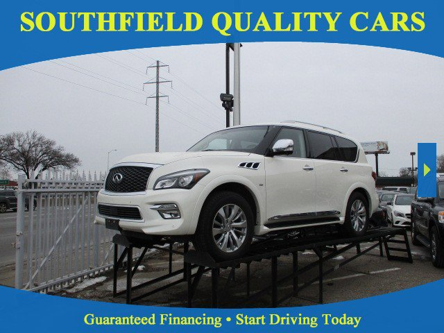 2016 INFINITI QX80 4WD w/ All Season Package image
