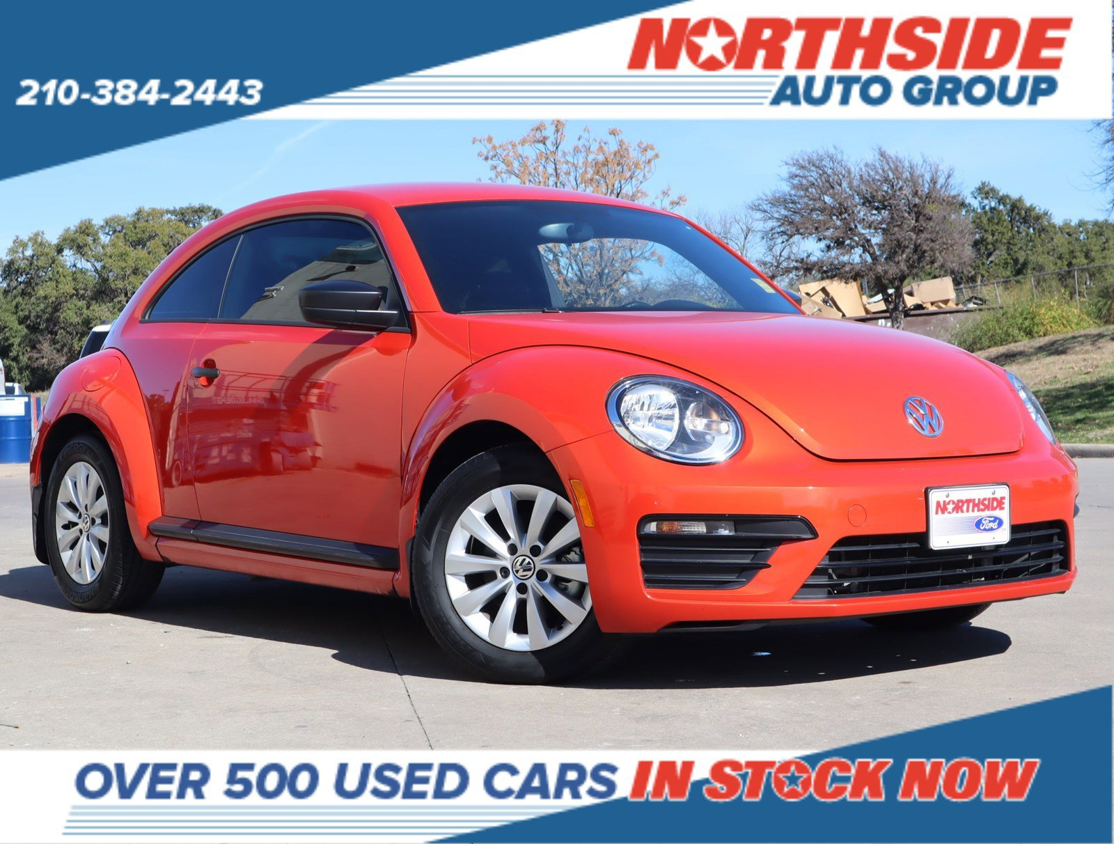 2018 Volkswagen Beetle 2.0T Coupe image
