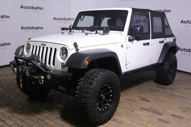 2015 Jeep Wrangler 4WD Unlimited Sport image