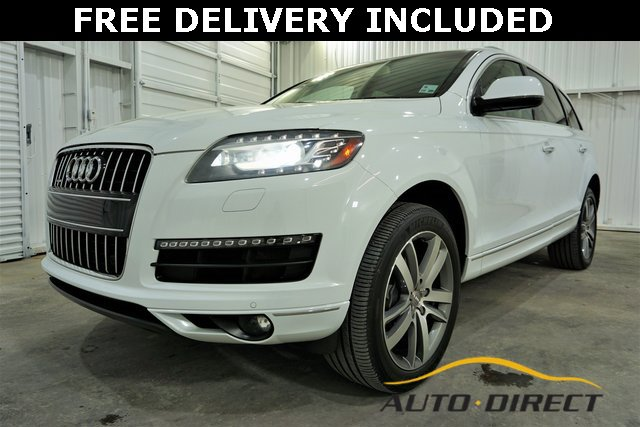 Audi Q7 Under 500 Dollars Down