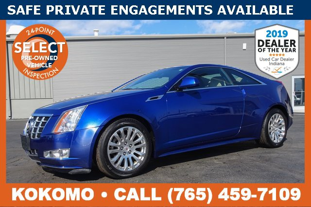 2012 Cadillac CTS Premium AWD Coupe image