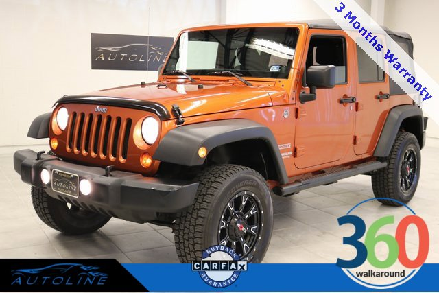 2011 Jeep Wrangler 4WD Unlimited Sport image