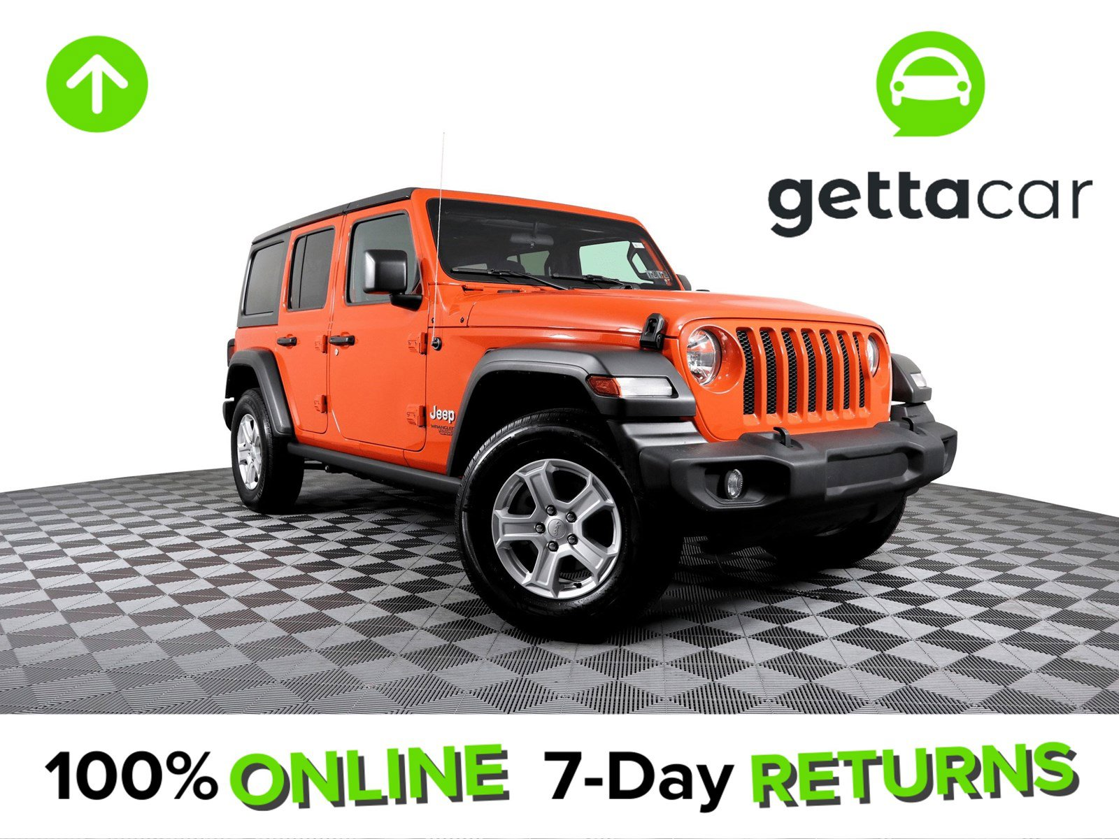 2019 Jeep Wrangler 4WD Unlimited Sport image
