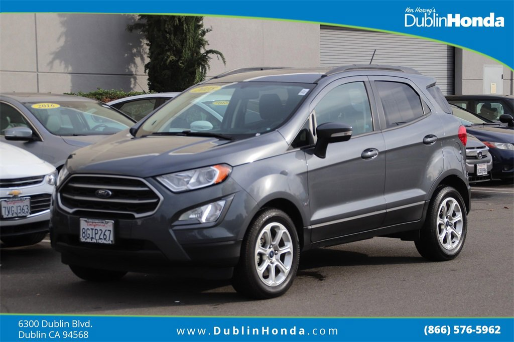 2018 Ford EcoSport FWD SE image
