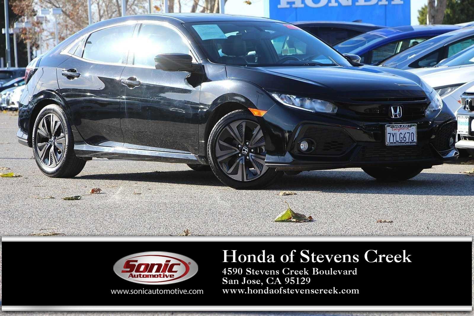 2017 Honda Civic EX-L Hatchback image