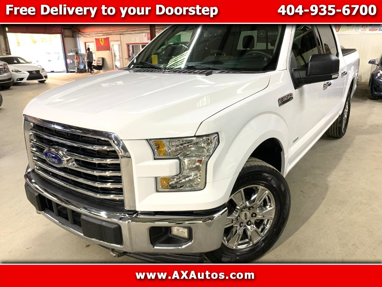 2017 Ford F150 4x4 Regular Cab XLT image