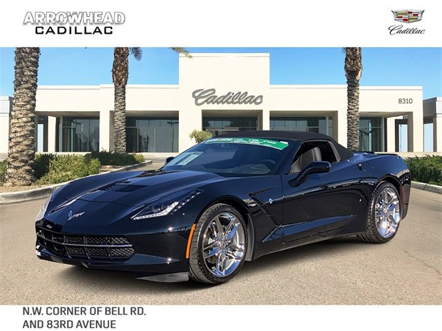 2019 Chevrolet Corvette Stingray Convertible w/ 3LT image