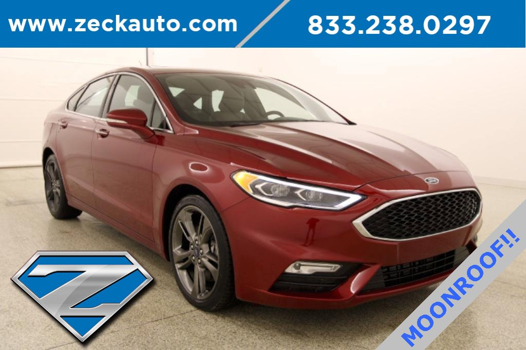 2017 Ford Fusion Sport AWD image