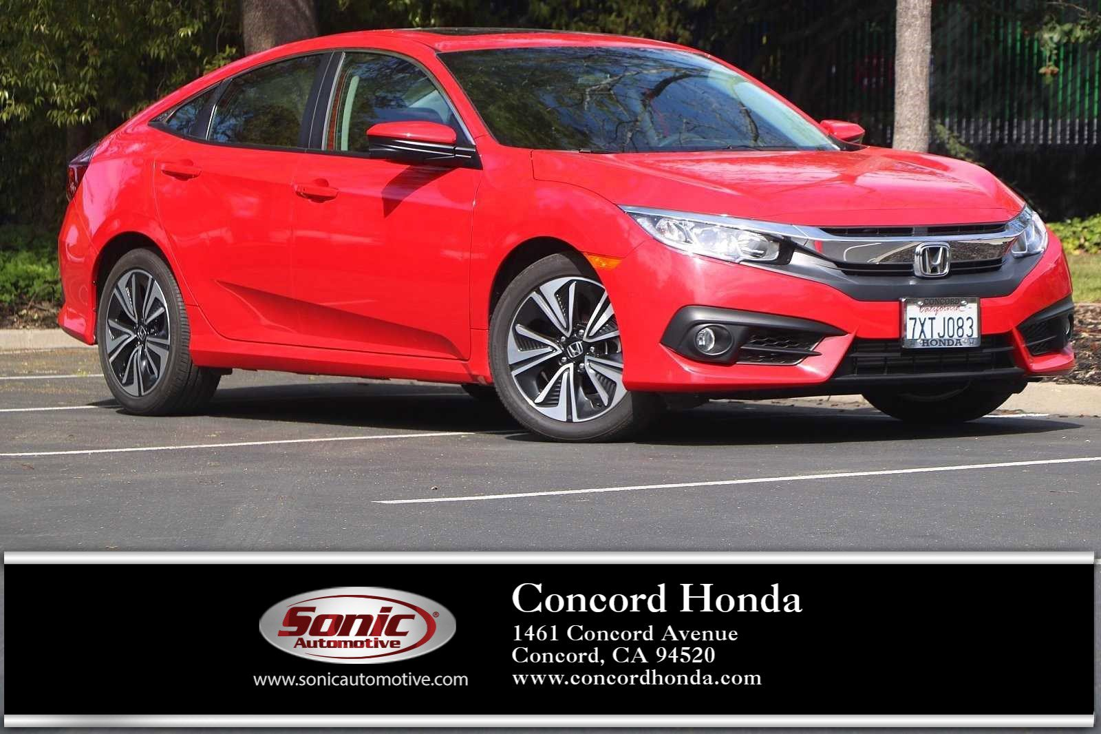 2017 Honda Civic EX-T Sedan image