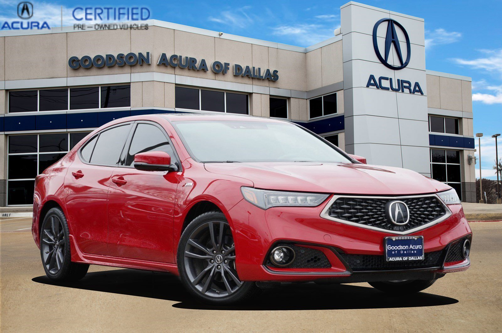 2018 Acura TLX V6 w/ Technology & A-SPEC Pkg image