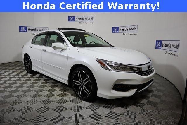 2017 Honda Accord Touring Sedan image