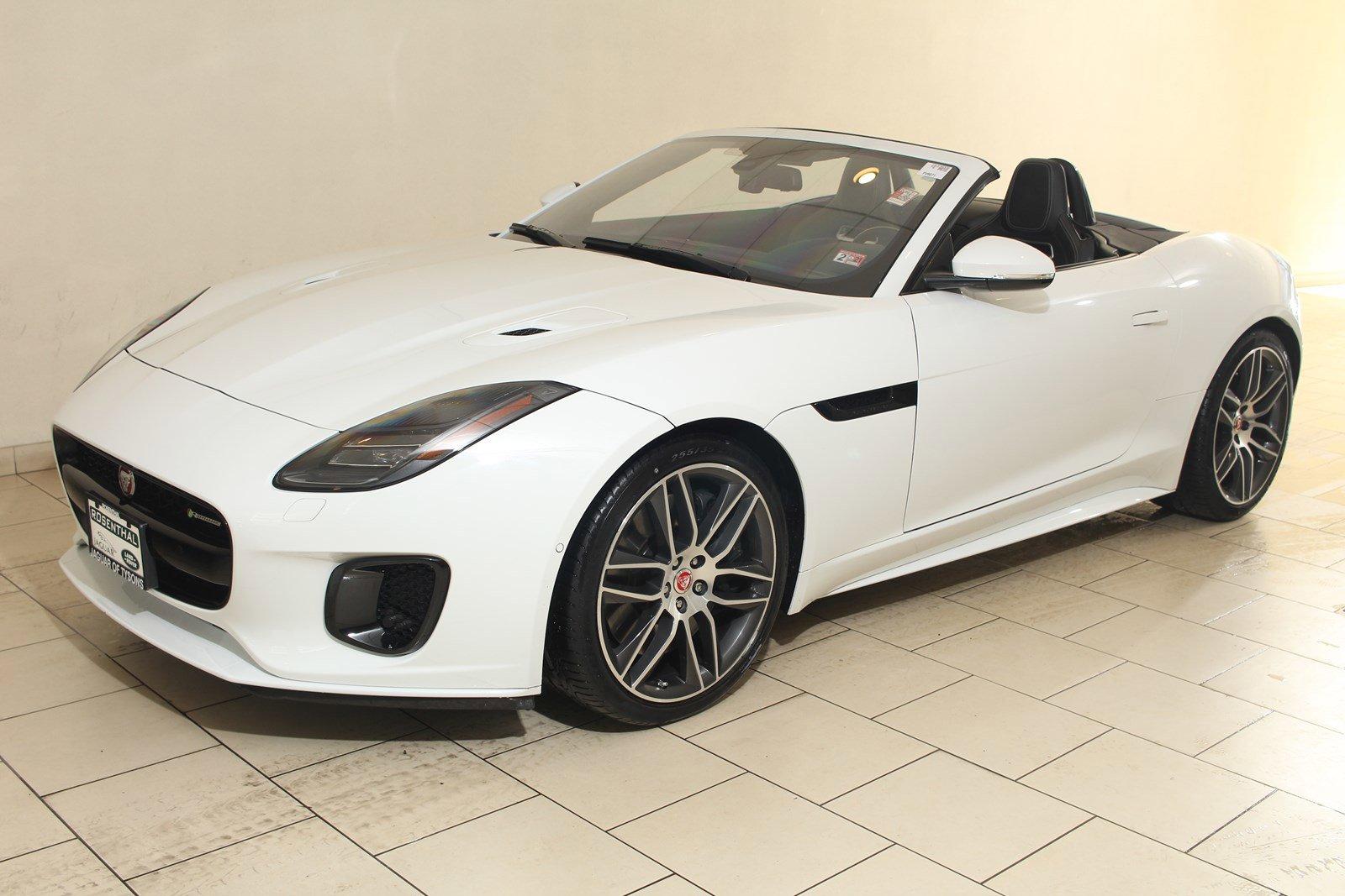 2018 Jaguar F-TYPE R-Dynamic Convertible AWD image