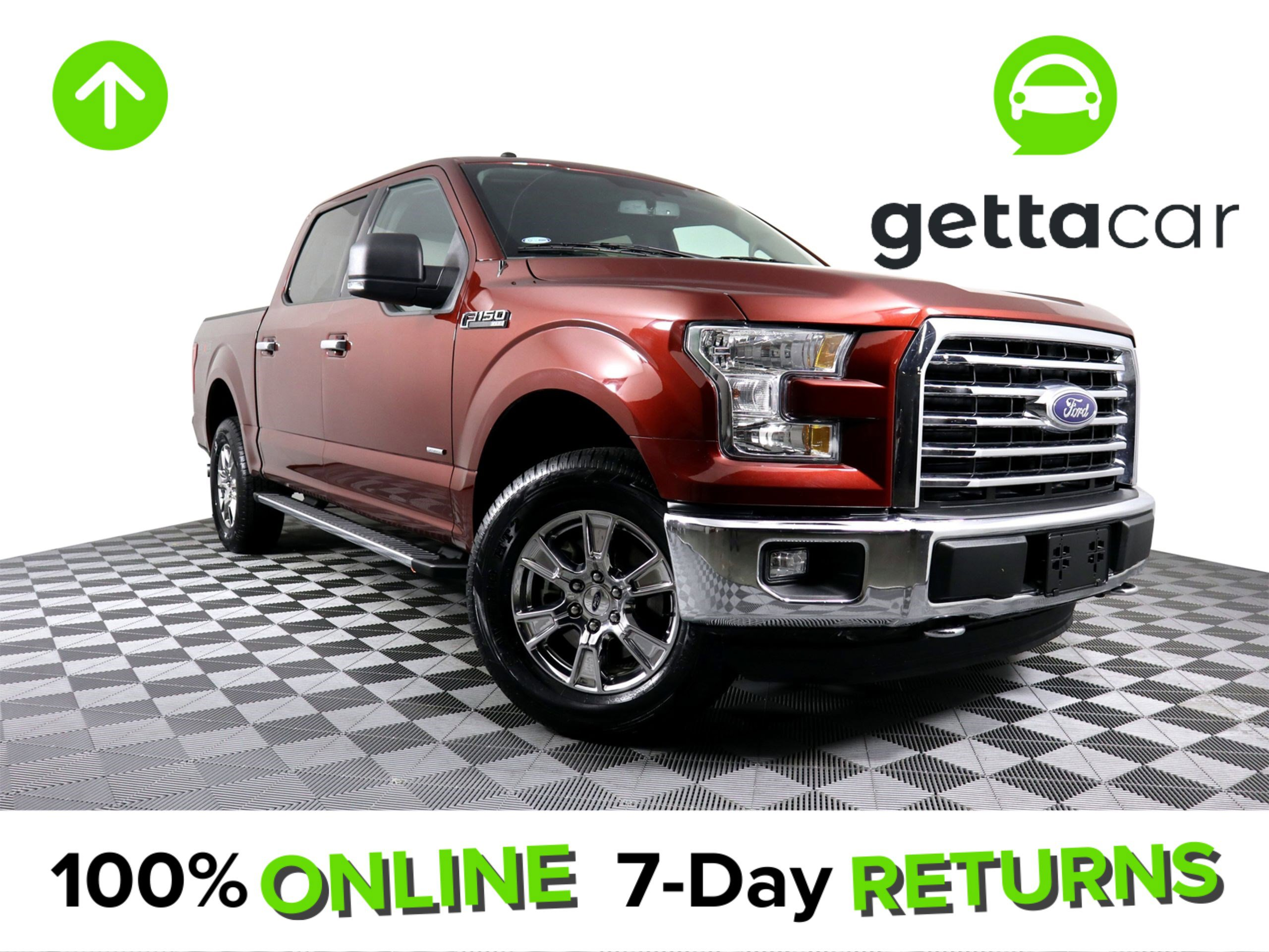 2016 Ford F150 4x4 SuperCrew image