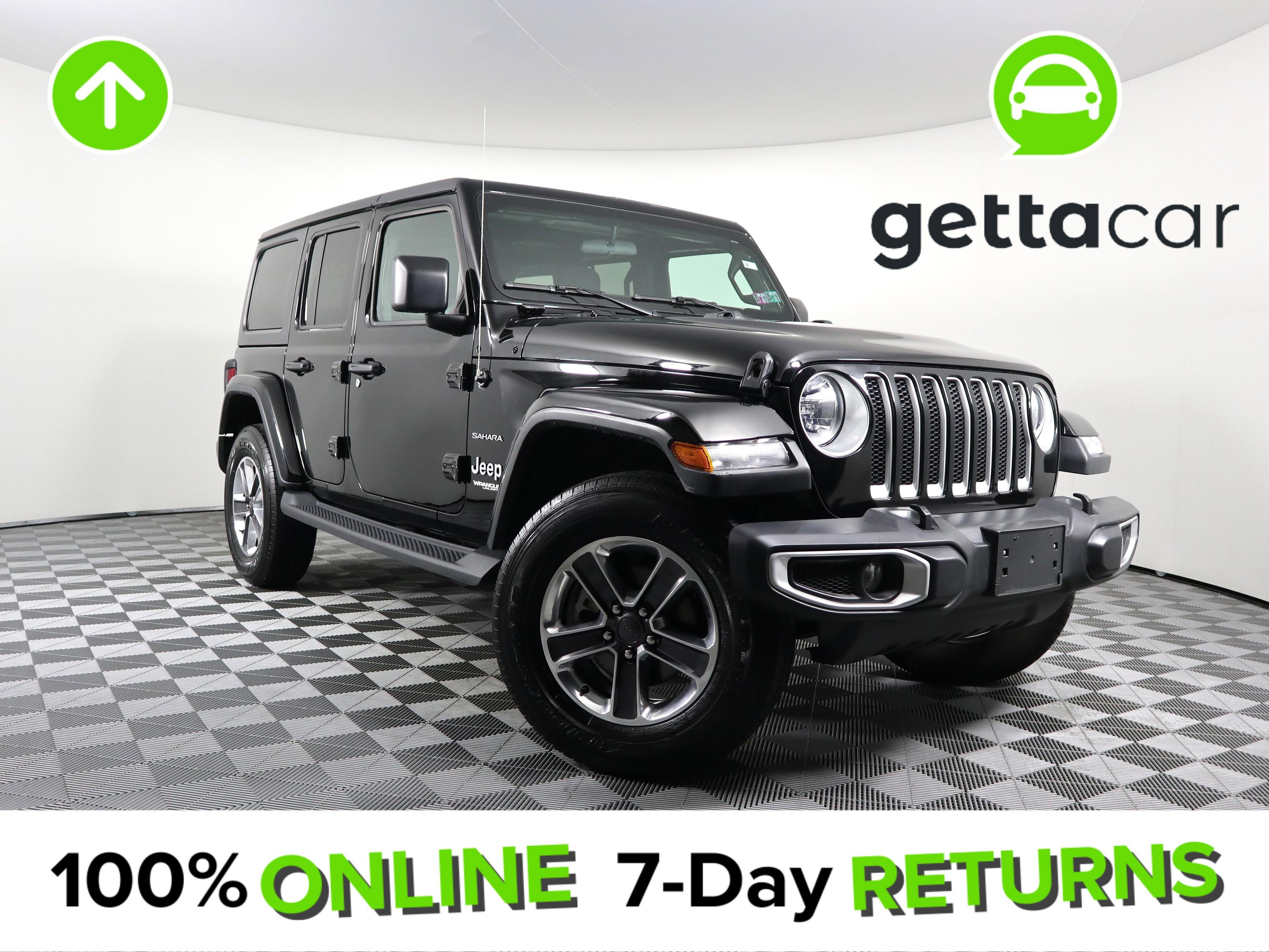 2019 Jeep Wrangler 4WD Unlimited Sahara image