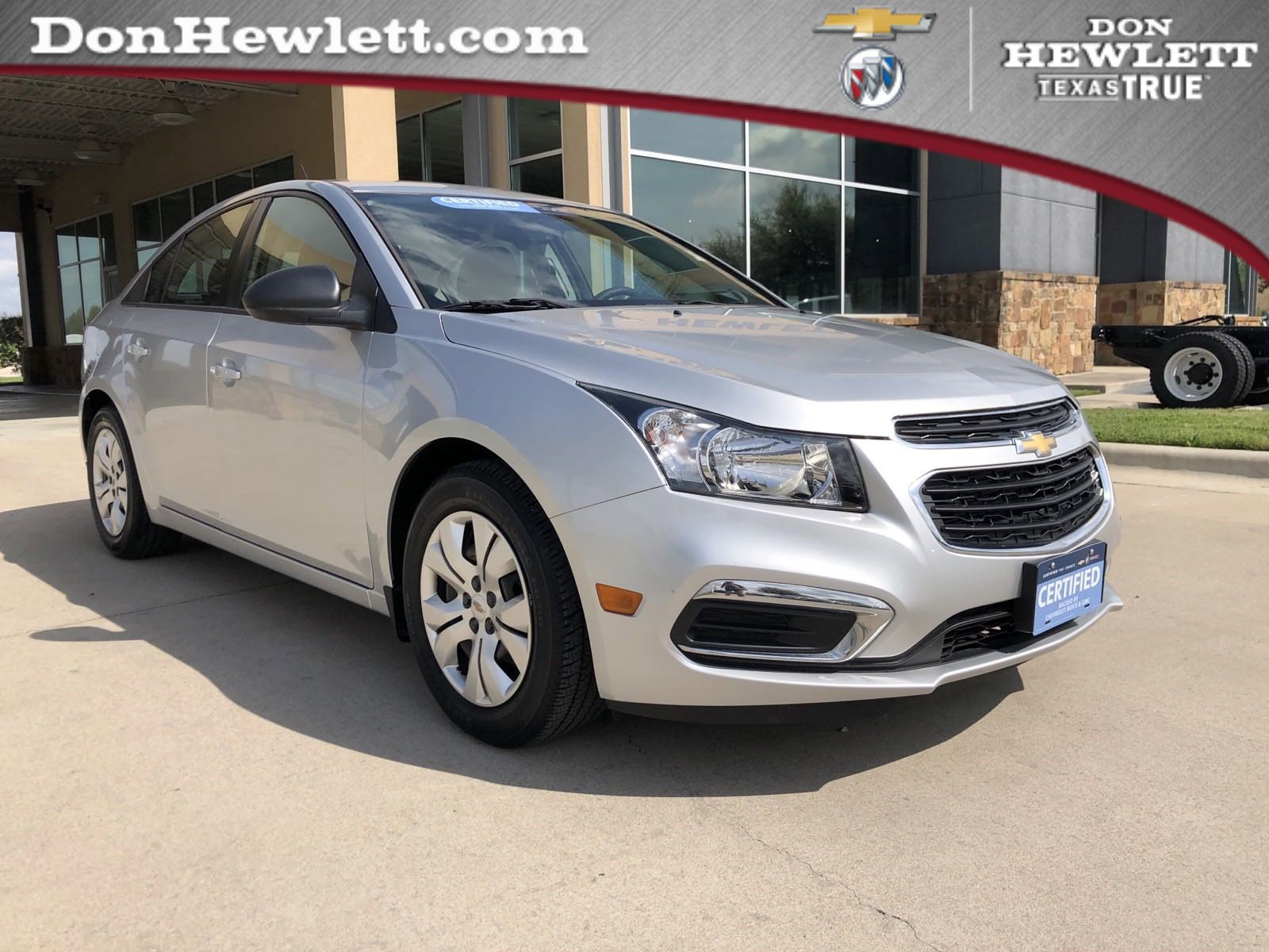 2016 Chevrolet Cruze Limited LS Sedan image