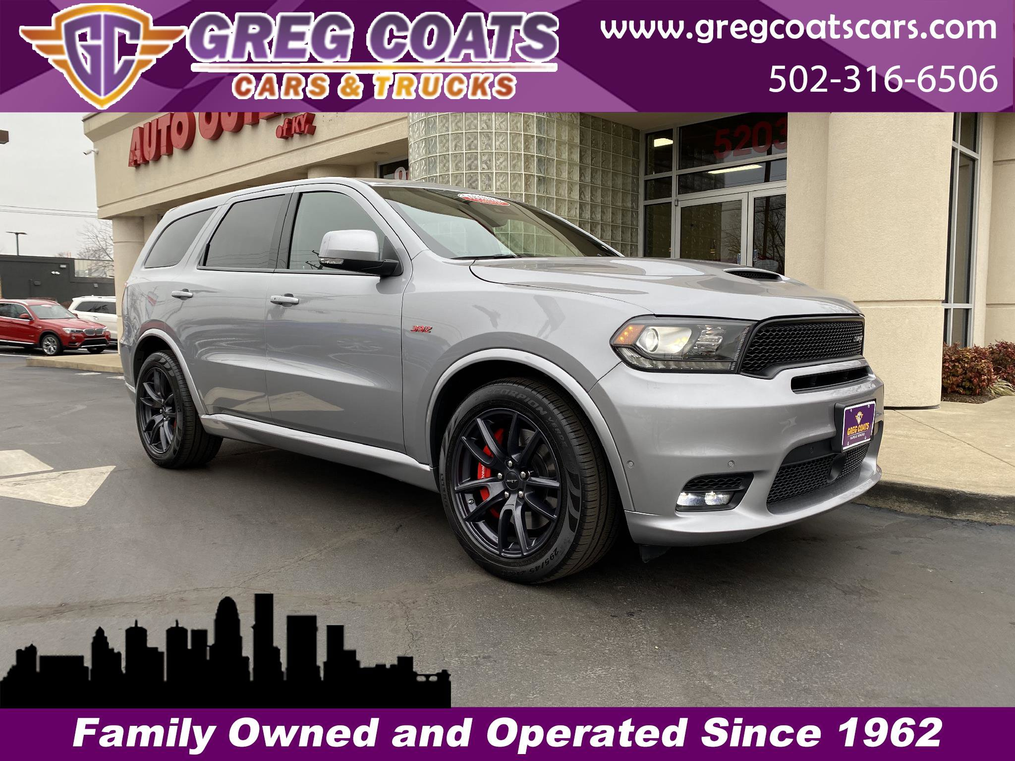 2018 Dodge Durango AWD SRT w/ TECHNOLOGY GROUP image